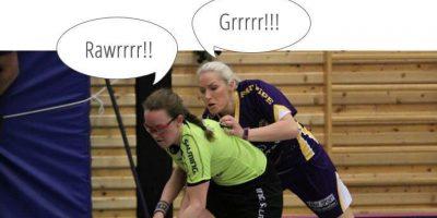 En kamp i damenes eliteserie i kveld