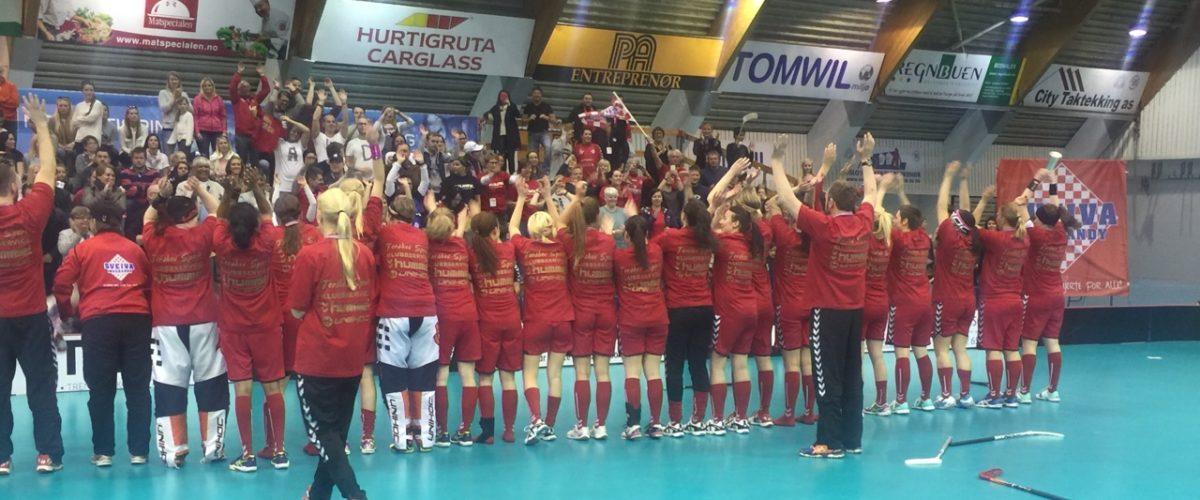 Sånn ser de ut når Sveiva vinner NM gull!!!