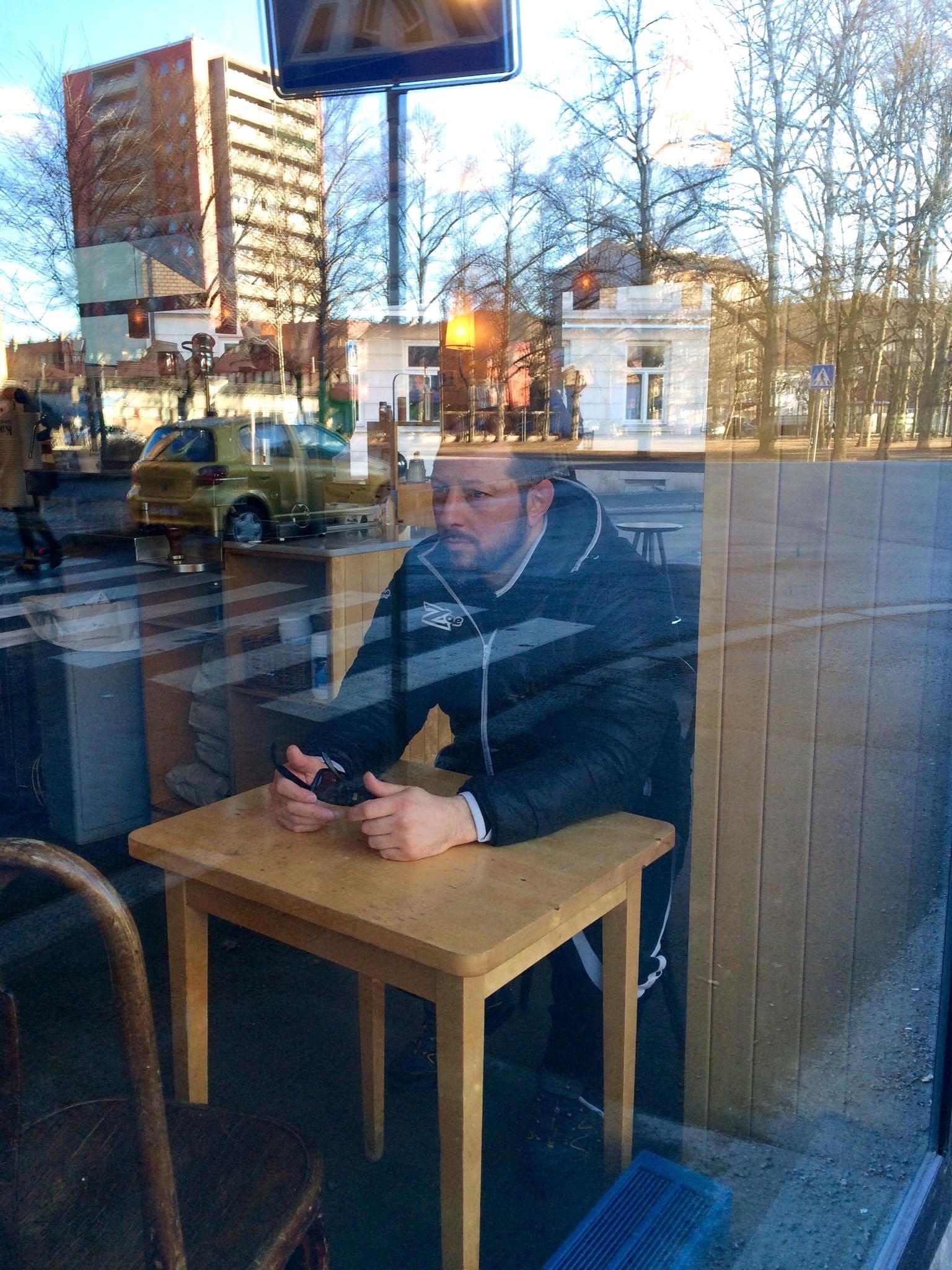 Vi møter Paolo Caroprese på Oslos beste vest.