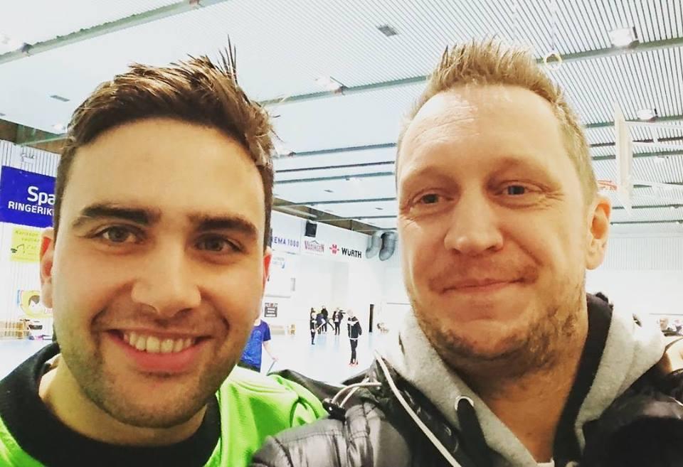 Andreas Falkeid og Micke Ottoson