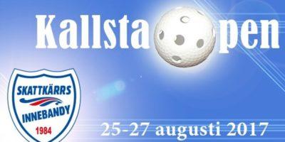VMG analyserer Kallsta open som spilles 25-27 August