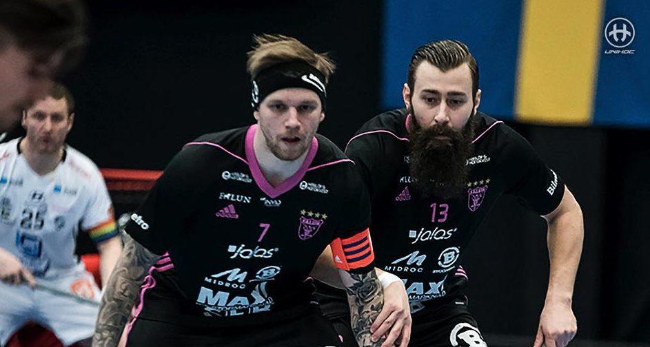 Falun kvitterte til 1-1 i kamper.