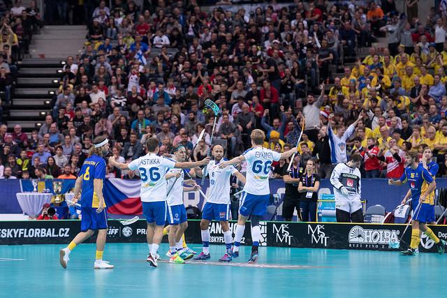 Dag 9 – VM Finalen Finland – Sverige 6-3 – Finland verdensmestere