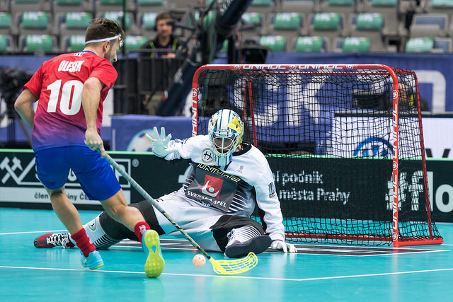 Dag 3 – Sverige – Norge – 6 skudd på mål etter 40 min.