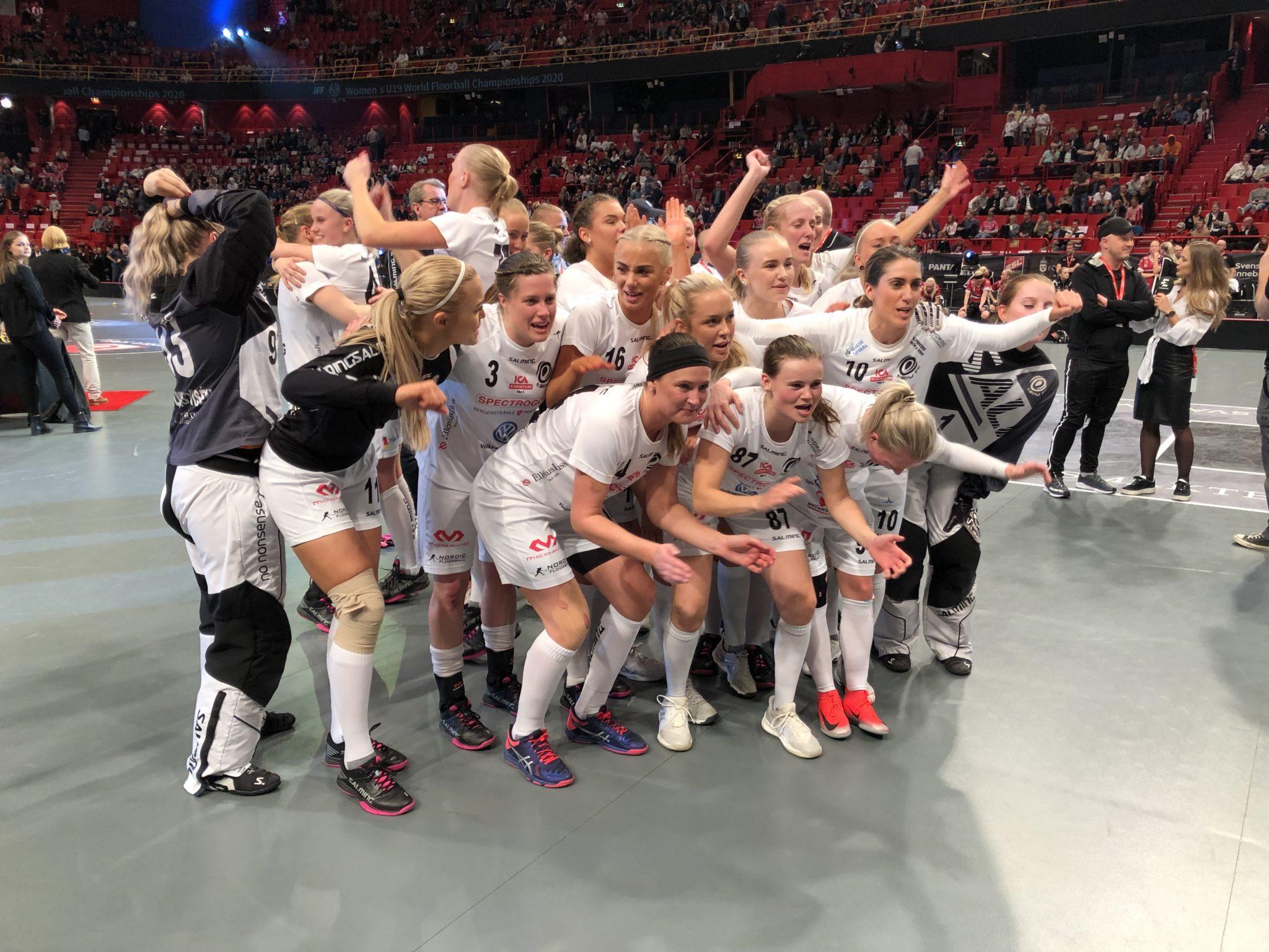 SM-Finalen Kvinner – Skrällen Täby vant