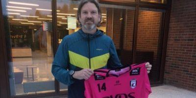 Jan Frode Snelling klar for IK Akerselva.